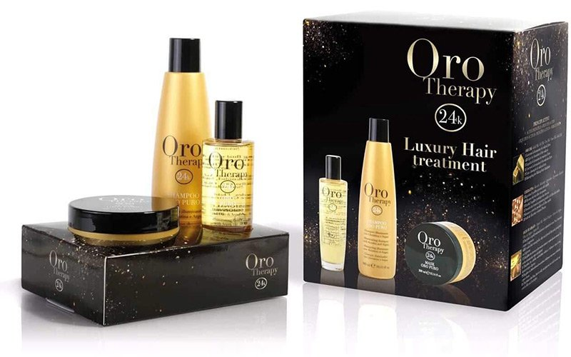 Oro Therapy 24k : soigner sa chevelure avec des particules d'or