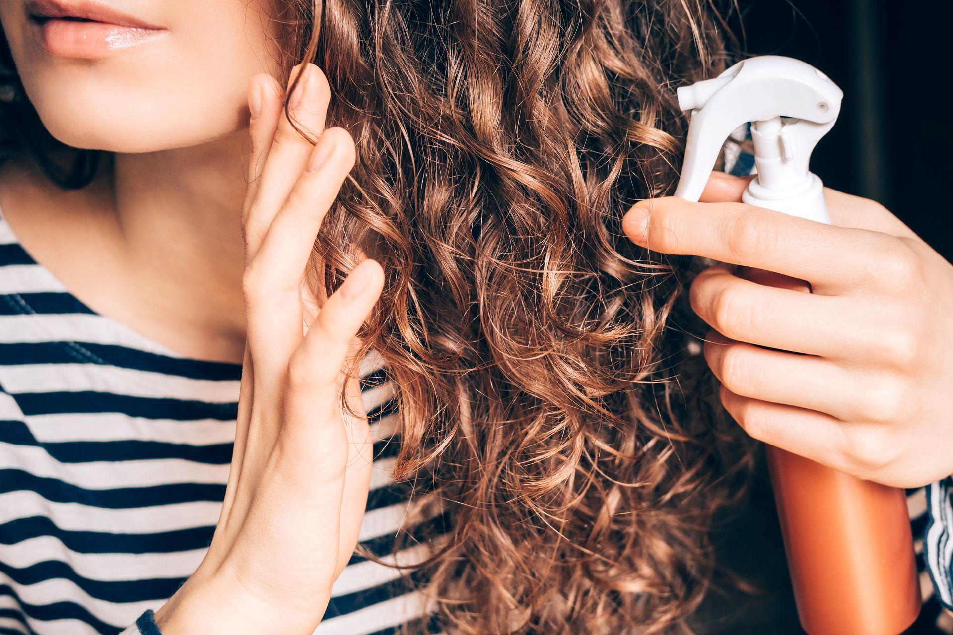des protections contre la chaleur pour les cheveux pour cheveux bouclés