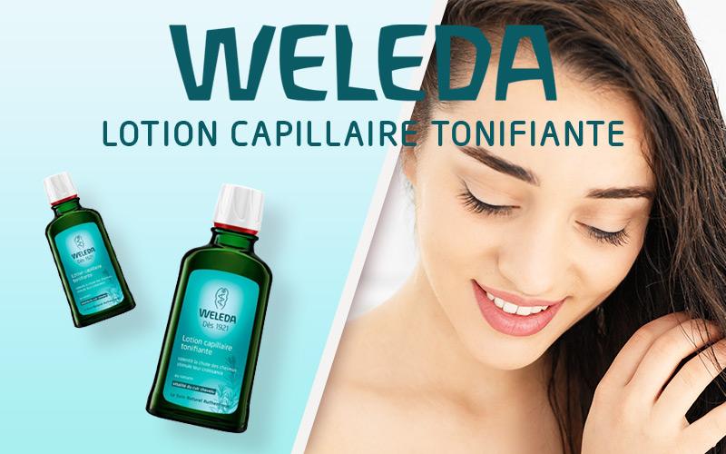 J'ai testé la lotion capillaire tonifiante au romarin par Weleda