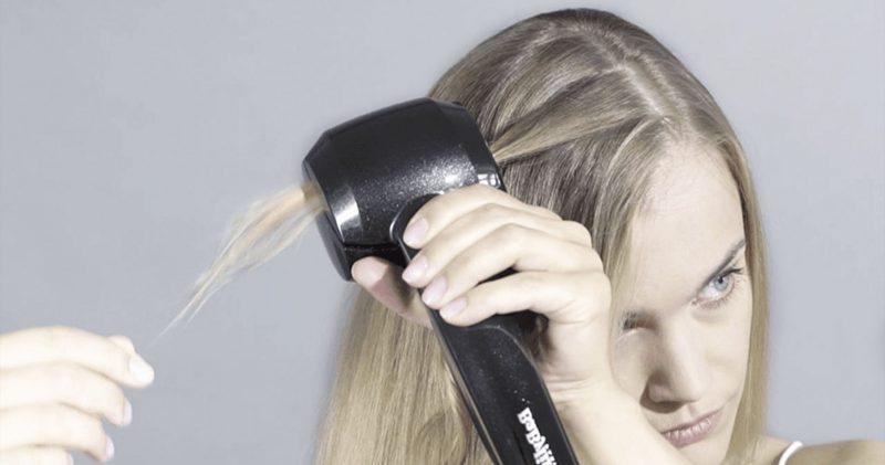 Un revêtement adapté pour une diffusion de chaleur homogène pour le fer à friser BaByliss Curl Secret 2